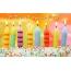 Свечки на тортике. С Днем Рождения, Заур!
