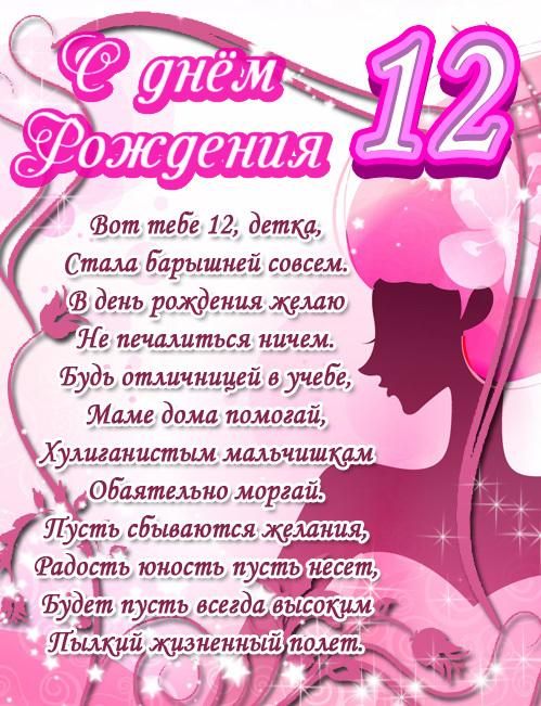 Красивое поздравление с днем рождения подростку девочке 31